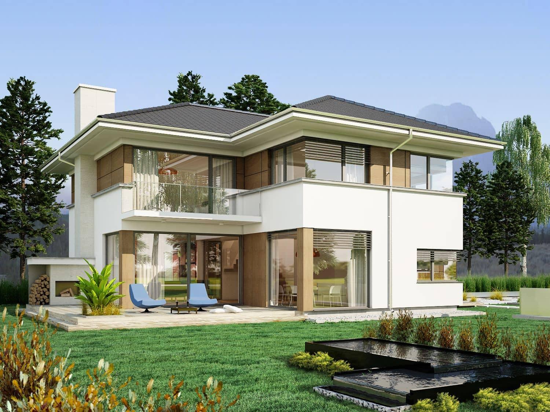 budynki jednorodzinne - projekty domów