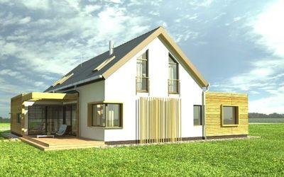 Budowa – dom z antresolą