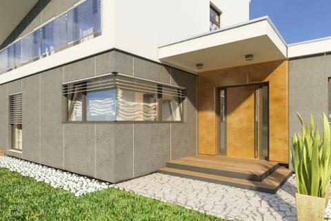 projekt domu AJR pod wawa 04