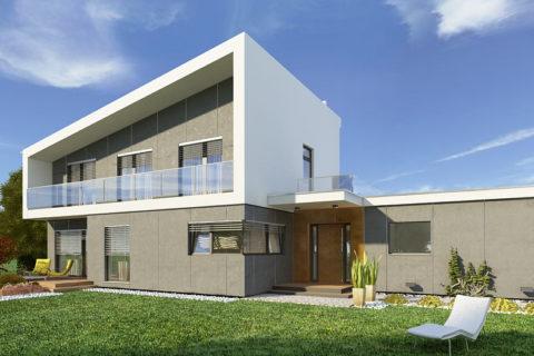 projekt domu AJR pod wawa 07
