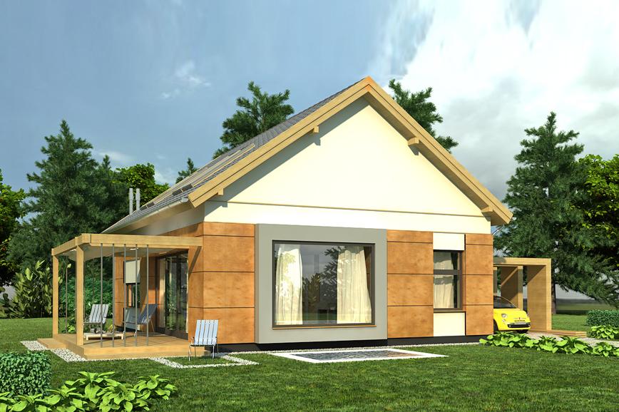 projekt domu AJR_25_01k