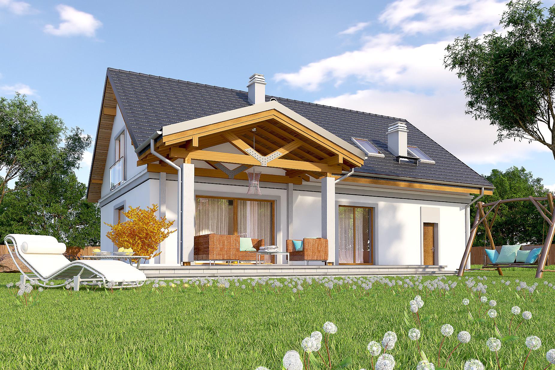 Projekt domu ajr 13